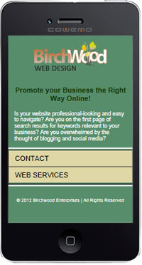 mobile ready websites